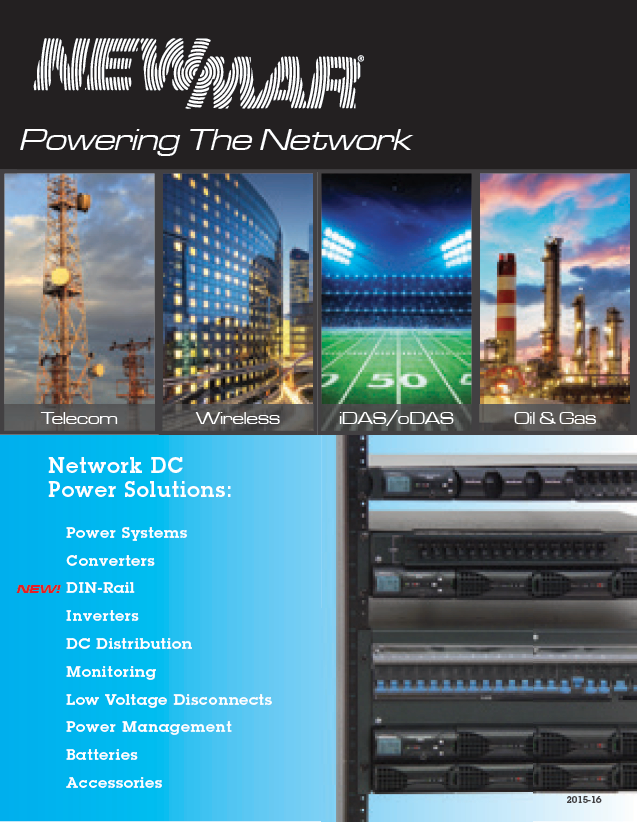 Newmar Powering the Network Rackmount DC Power Catalog Cover